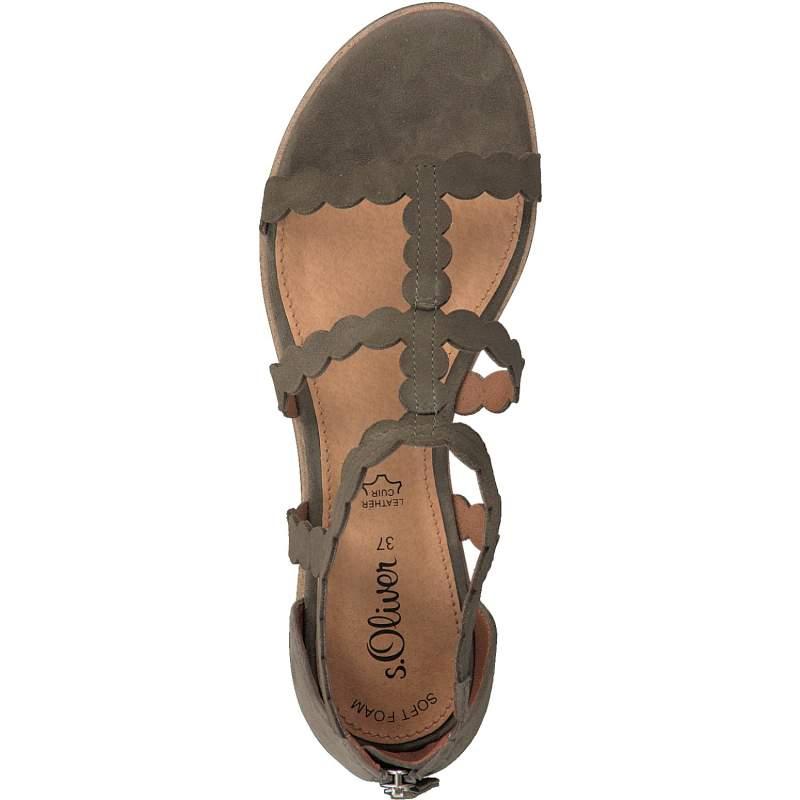 Sandale Dama s.Oliver 5-28117-20 720 Olive
