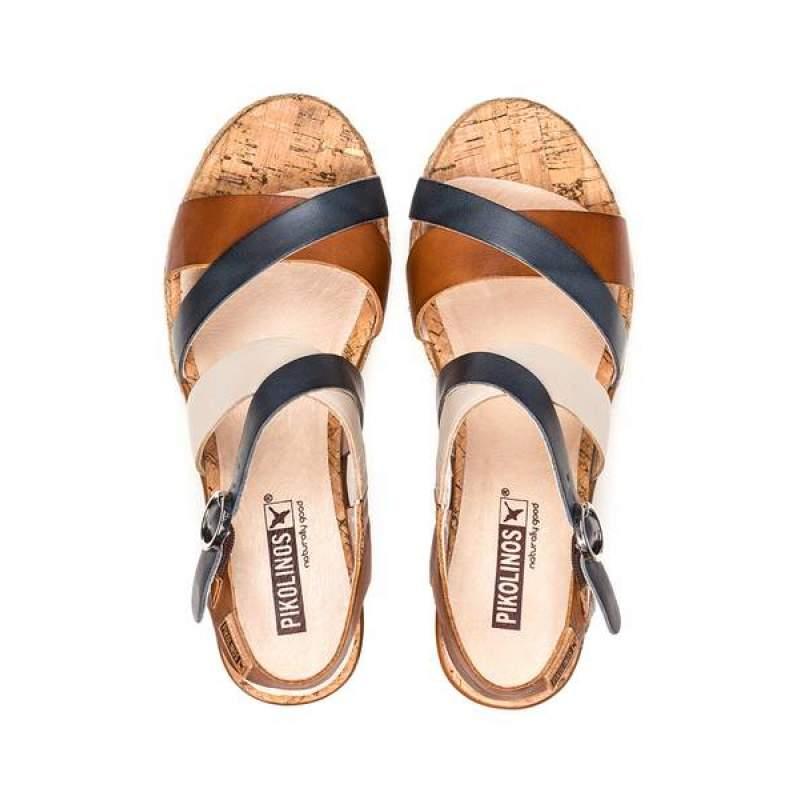 Sandale Dama Pikolinos W7R-5792 Coniac