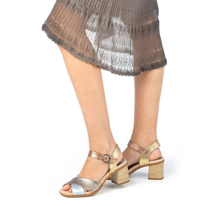 Sandale Dama Pikolinos W2R-1638CLC1 Auriu