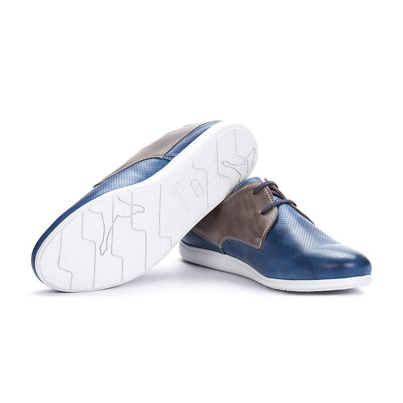 Pantofi Barbati Pikolinos M9F-4150C1 Albastru/Gri